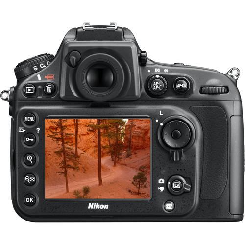Nikon D800E Reflex 36Mpx - Black