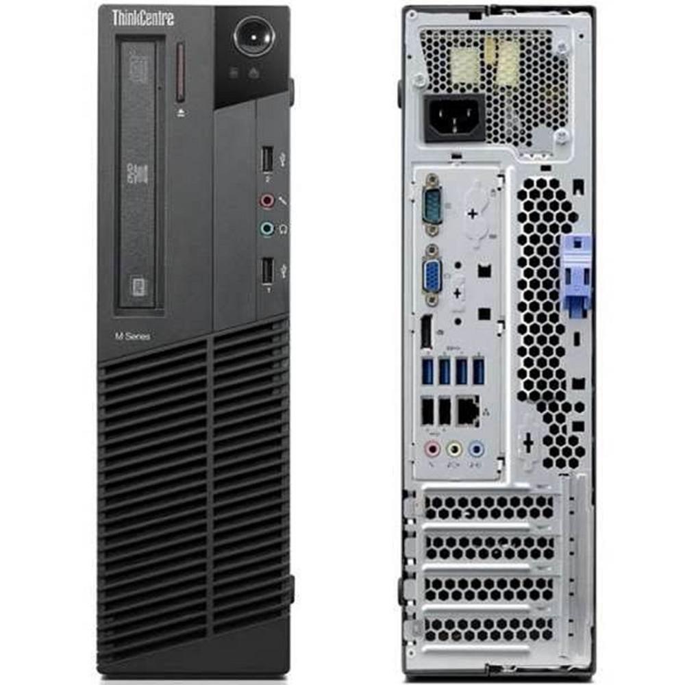 Lenovo ThinkCentre M82 SFF Pentium 2,8 GHz - HDD 120 Go RAM 8 Go
