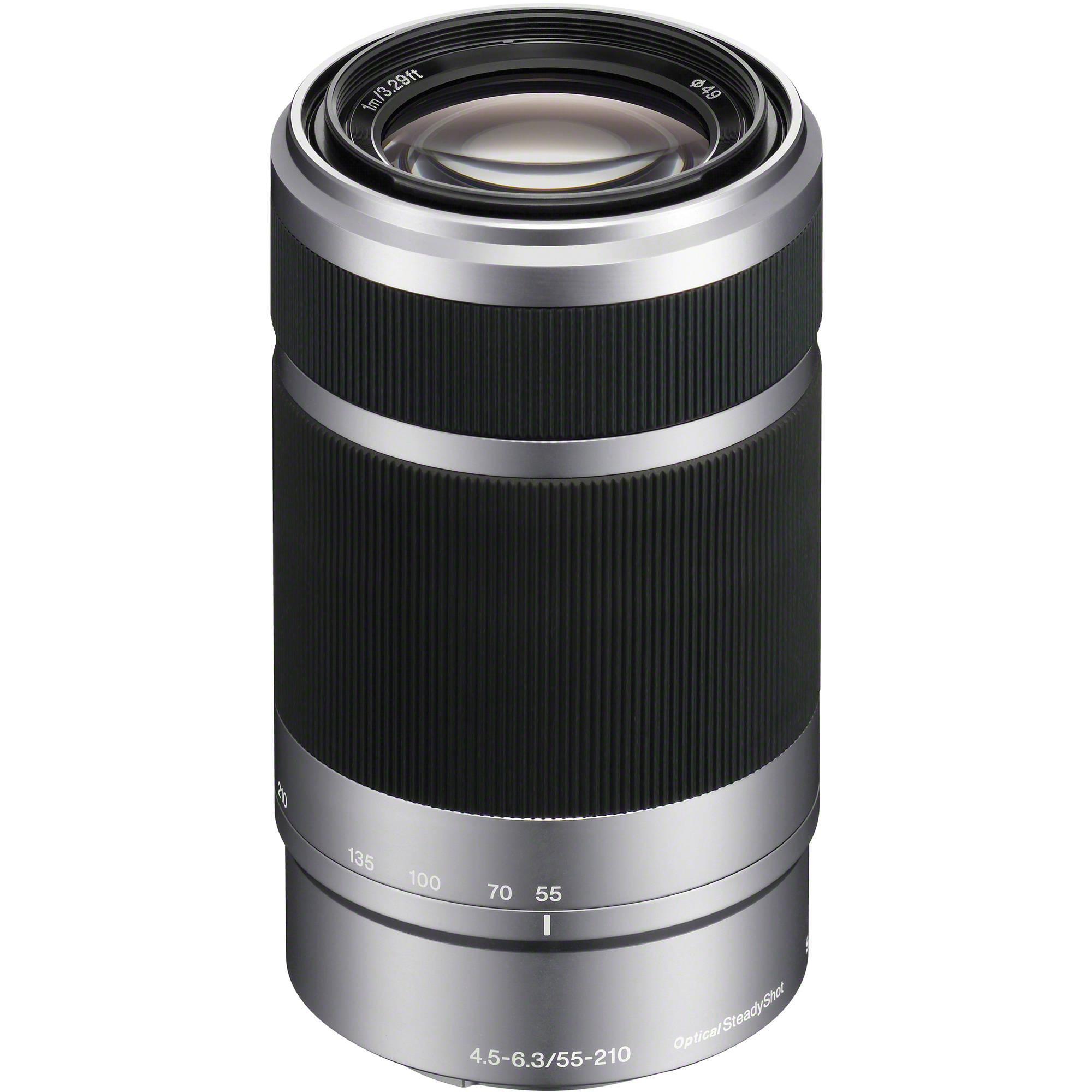 Objectif E 55-210mm f/4.5-6.3