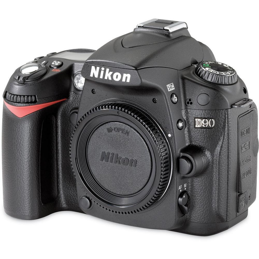 Nikon D90 Reflex 12,3Mpx - Black