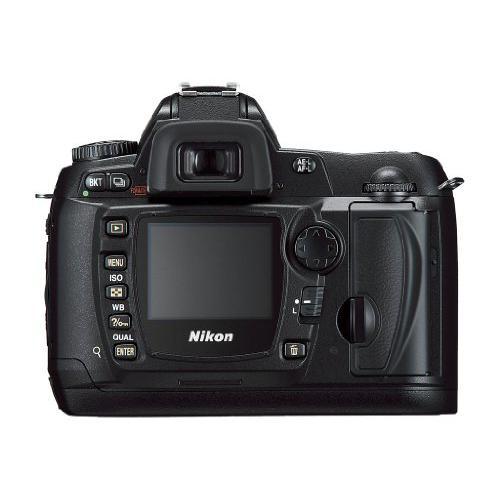 Nikon D70 Reflex 6 - Svart