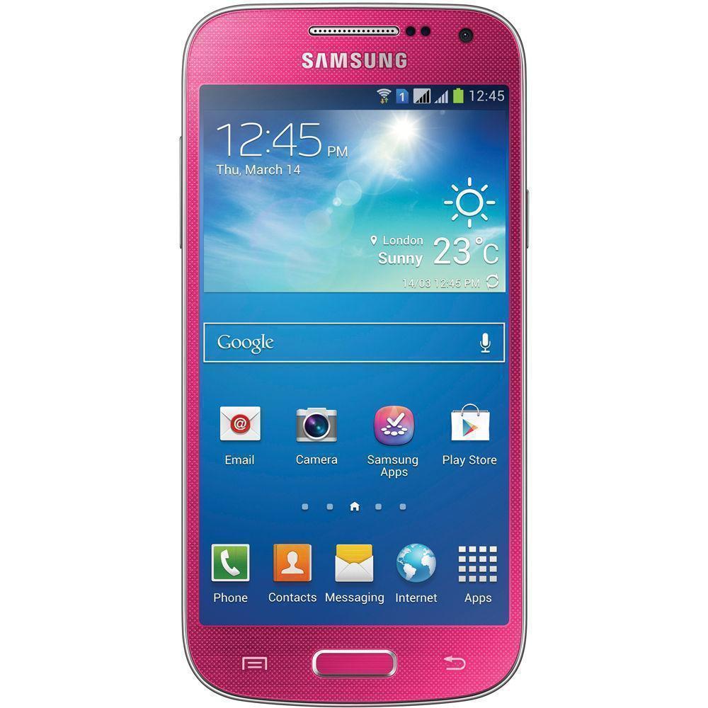 Galaxy S4 Mini 8 Gb - Rosa - Ohne Vertrag gebraucht | Back ...