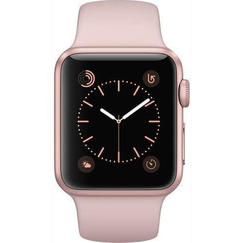 Apple Watch (Series 1) Décembre 2016 38 mm - Aluminium Or - Bracelet Sport Rose