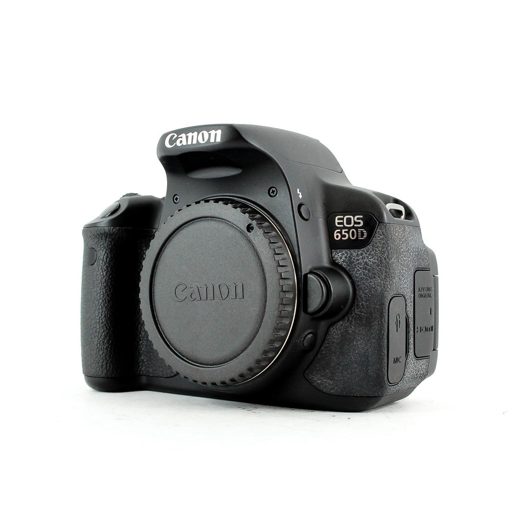 Reflex - Canon EOS 650D Boitier nu - Noir