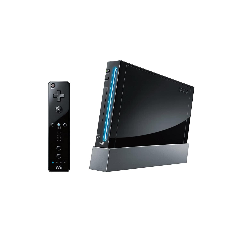 Gameconsole Nintendo Wii 8GB + controller - Zwart