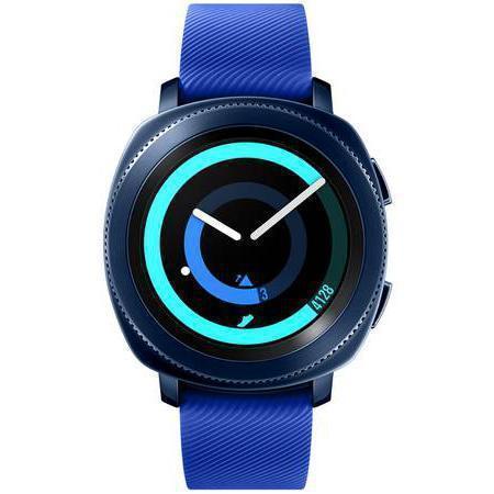 Samsung Smart Watch Gear Sport (SM-R600) HR GPS - Blue