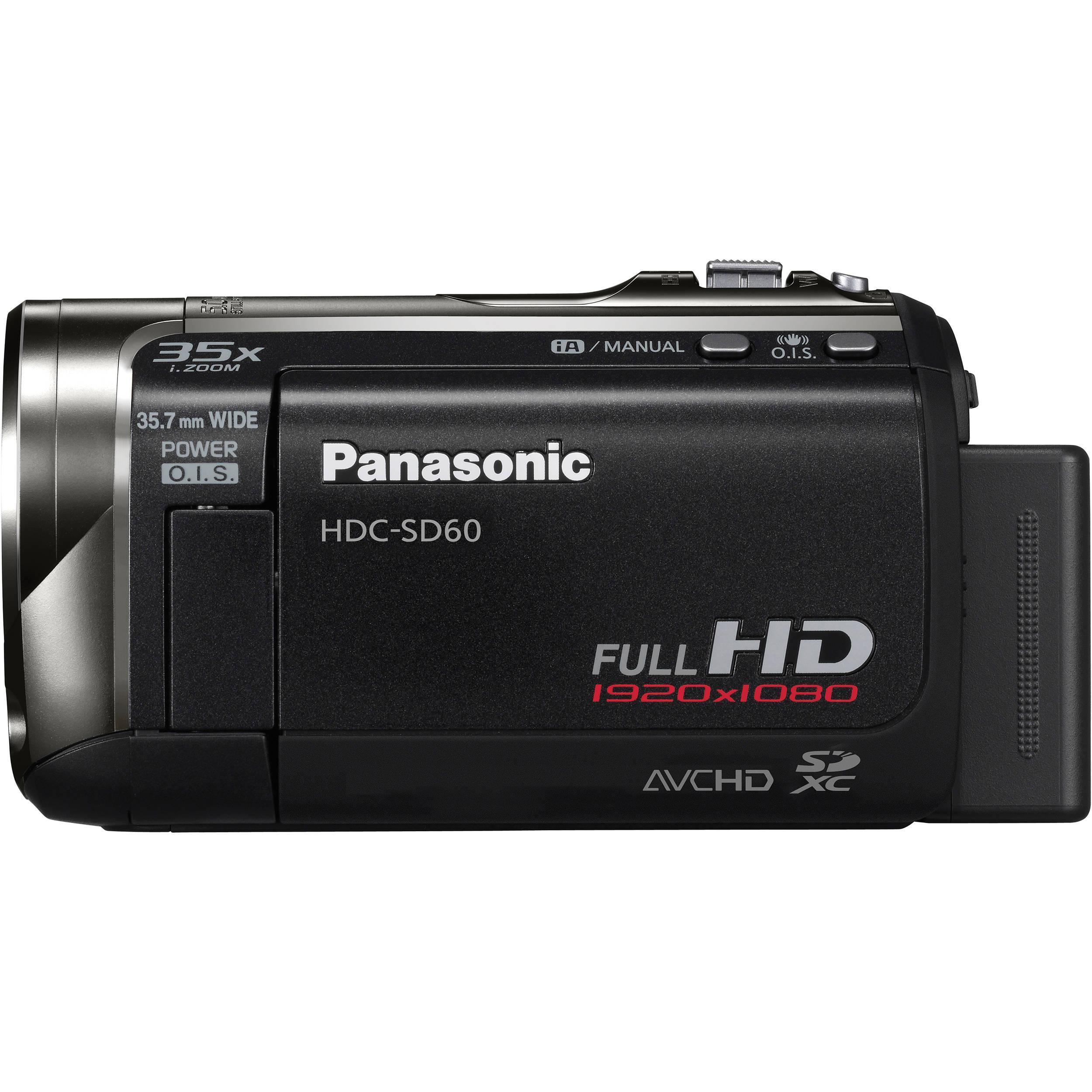 Caméra Panasonic HDC-SD60 USB - Noir