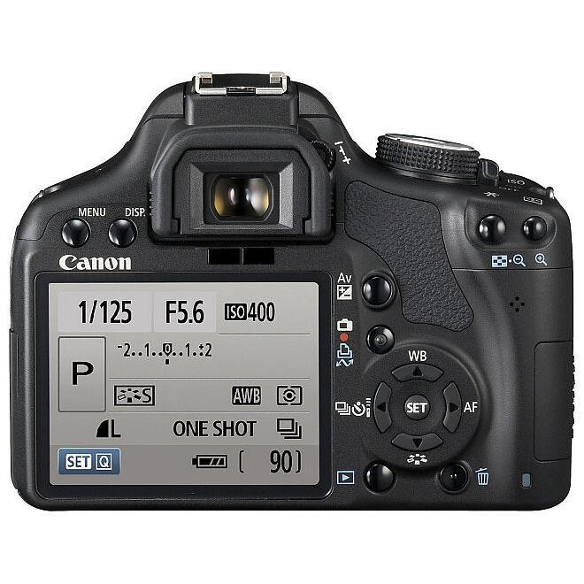 Canon EOS 500D Reflex 15Mpx - Black