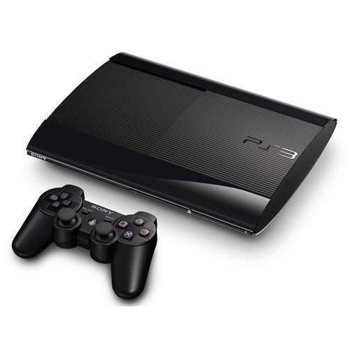 Console Sony PS3 Ultra Slim 500 Go + Manette - Noir