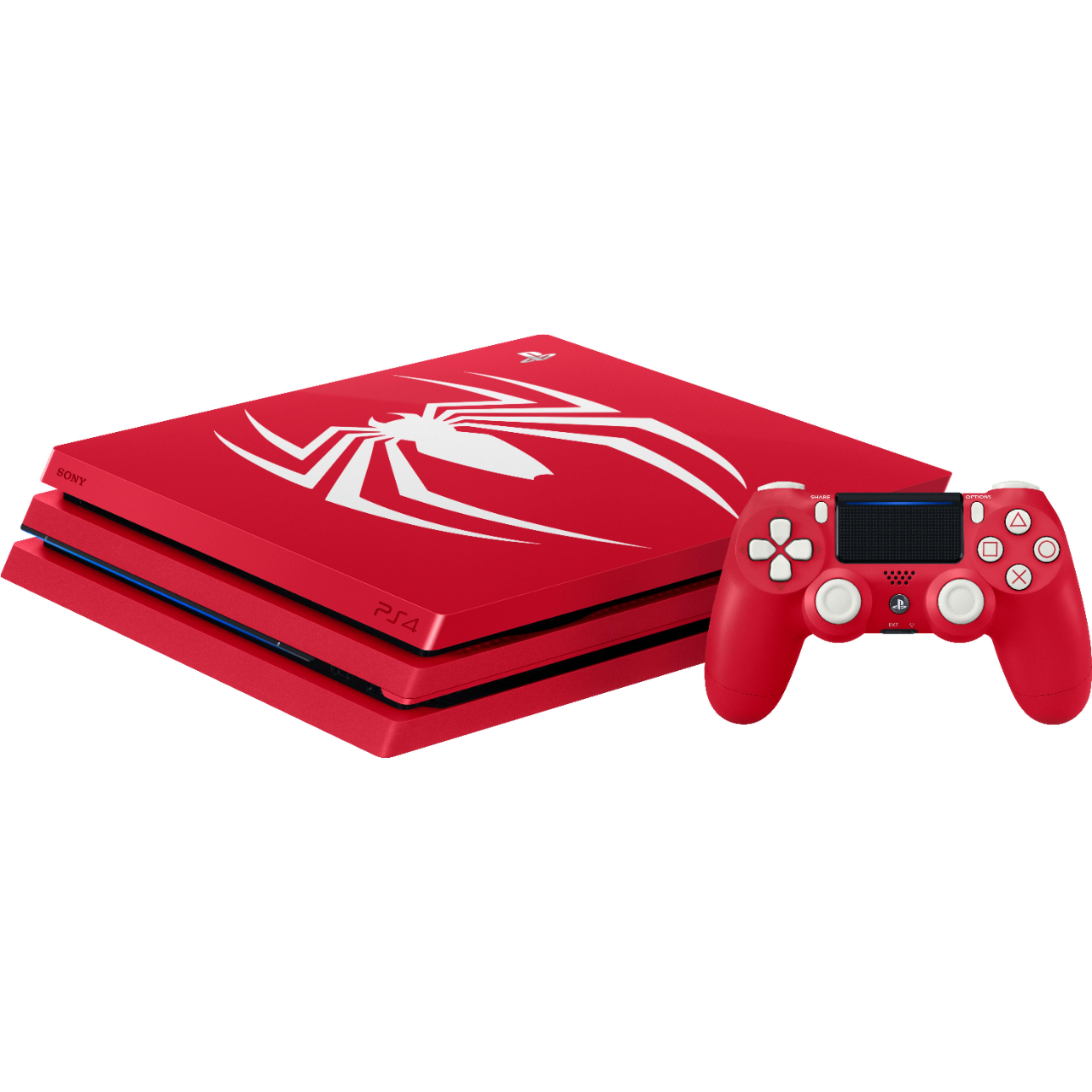 PlayStation 4 Slim - HDD 1 TB - Röd