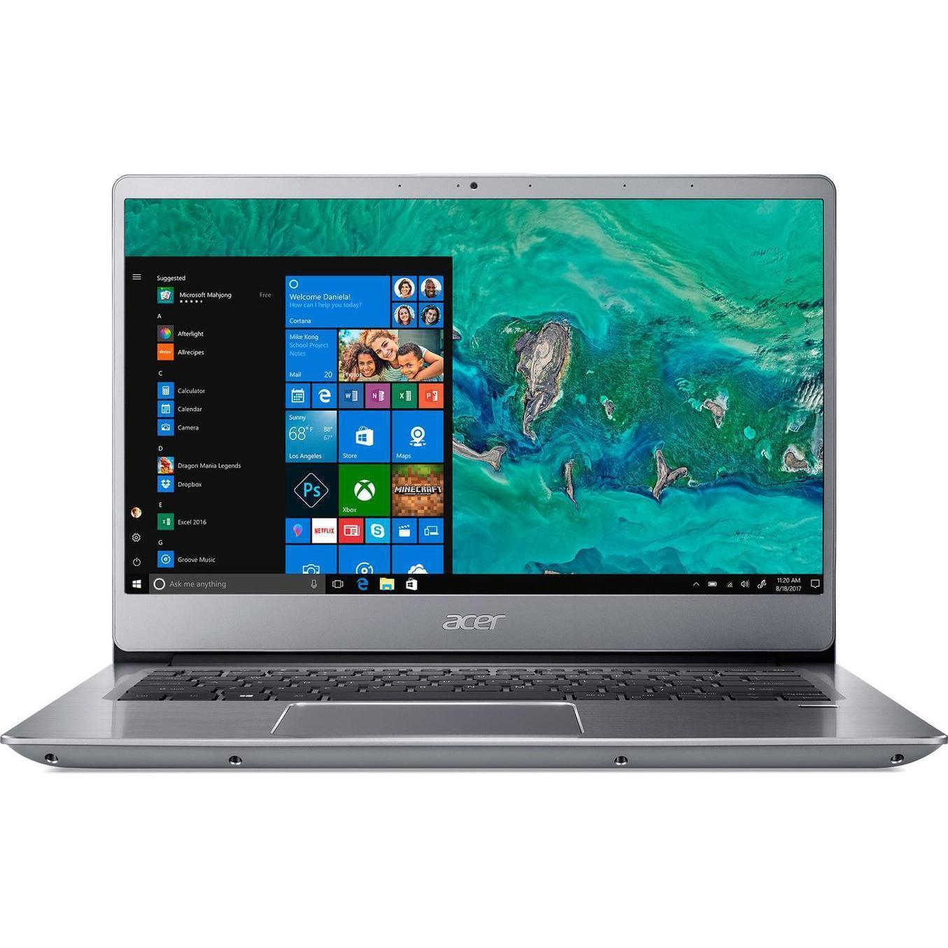 Acer Swift SF314-54-867W 14-inch () - Core i7-8550U - 8GB - SSD 256 GB AZERTY - French