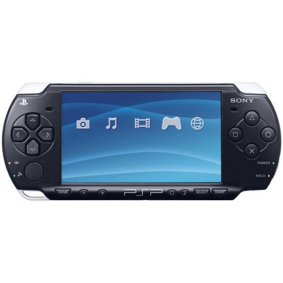 PSP 3000 Slim - HDD 4 GB - Schwarz
