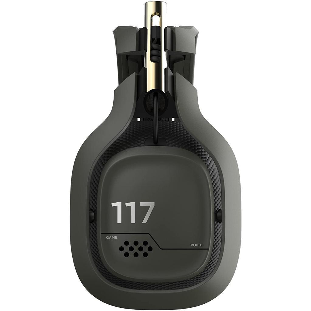 Casque Réducteur de Bruit Gaming Bluetooth avec Micro Astro A50 - Vert/Or