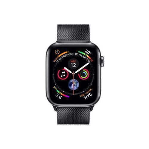 Apple Watch (Series 4) September 2018 44 - Aluminium Space Gray - Milanese Black