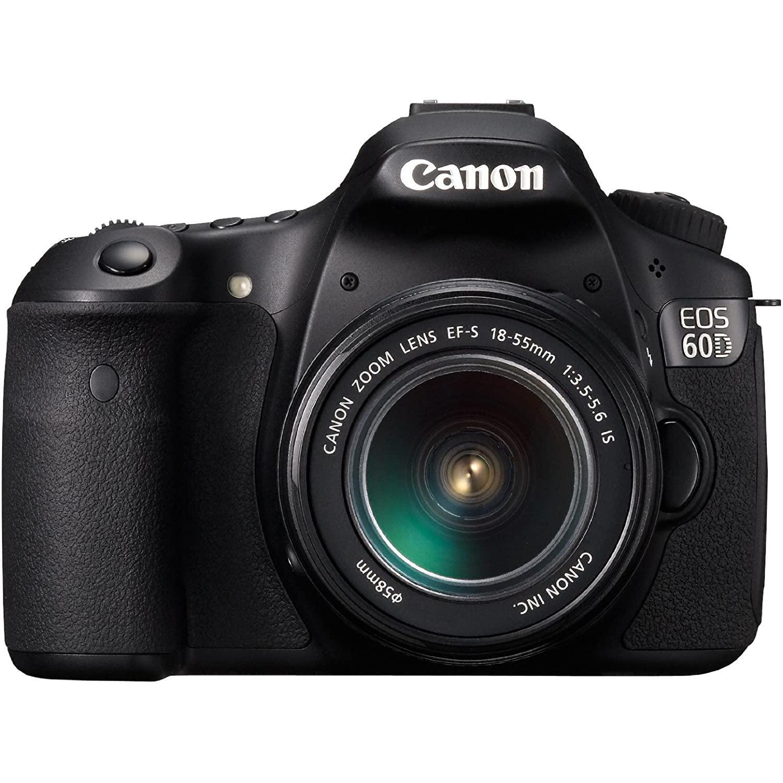 Canon EOS 60D Reflex 24 - Svart