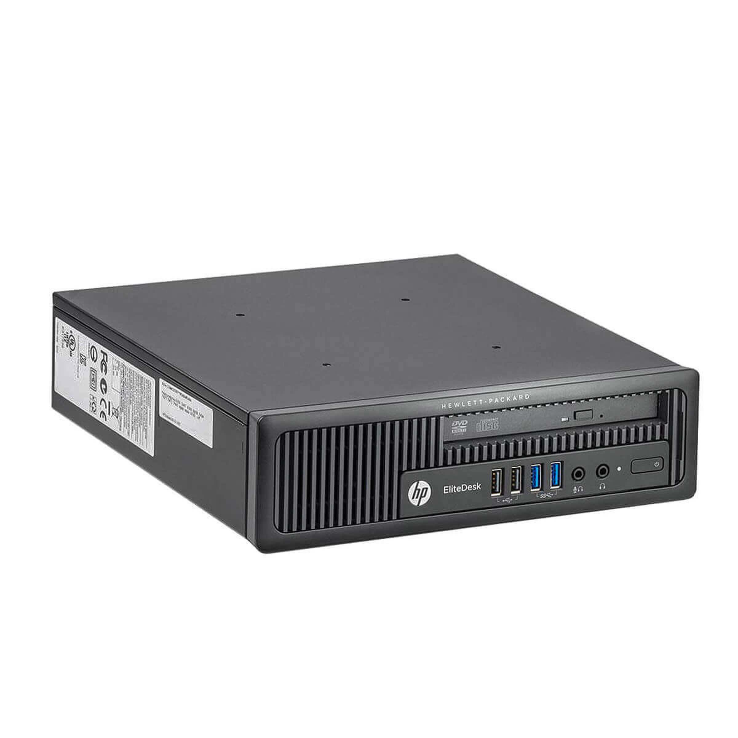 HP Elitedesk 800 G1 USDT Core i5 2,9 GHz - HDD 500 GB RAM 4 GB