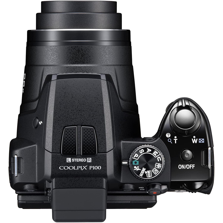 Nikon Coolpix P100 Bro 10 - Svart