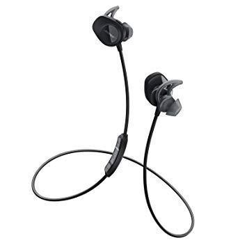Bose SoundSport wireless BT Earbud Earphones - Black