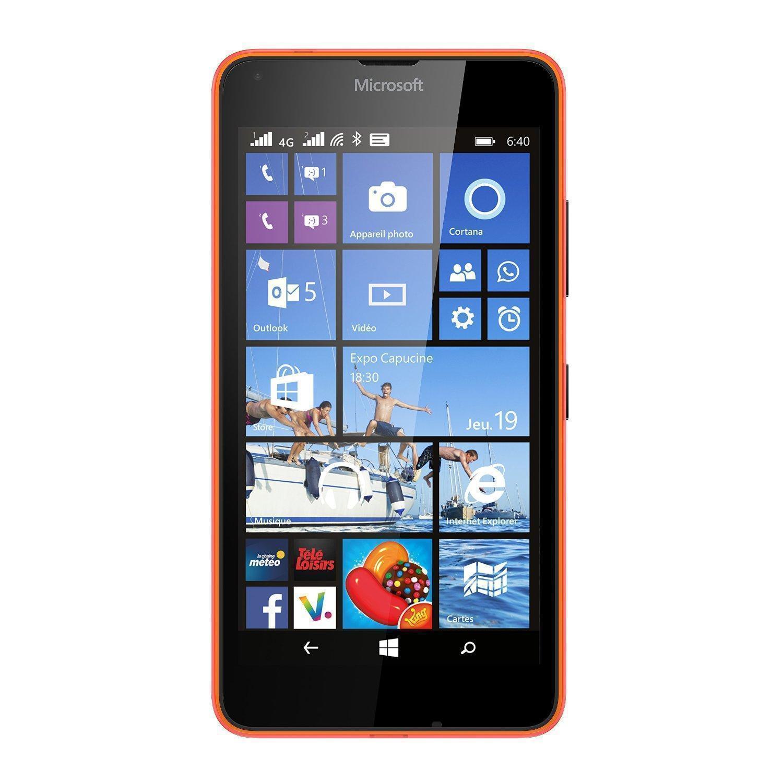 Microsoft Lumia 640 - Orange- Débloqué