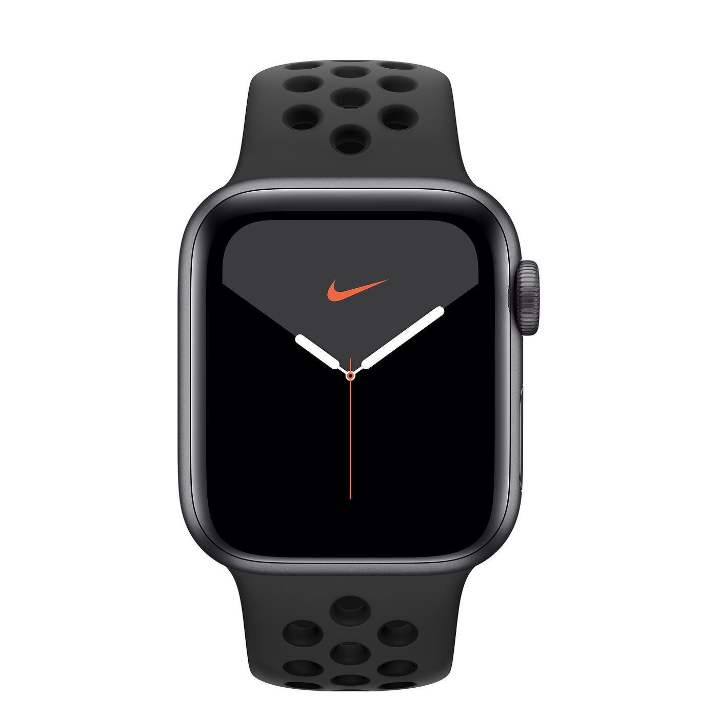 Apple Watch (Series 4) September 2018 40 - Aluminium Svart - Sport Nike Svart