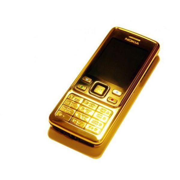 Nokia 6300 - Or- Débloqué