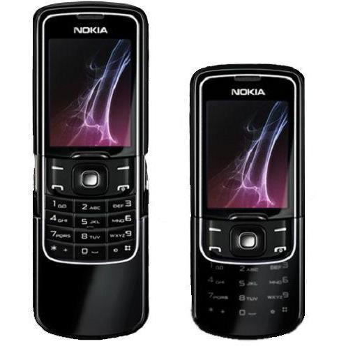 Nokia 8600 Luna - Noir- Débloqué