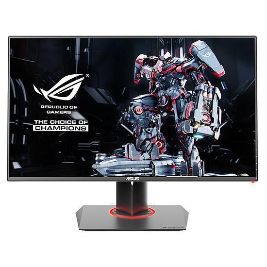 27-tum Asus ROG Swift PG278QR 2560 x 1440 LED Monitor Svart