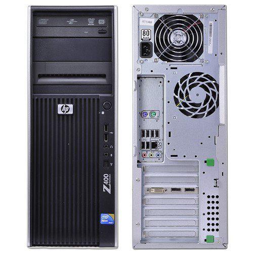 HP Workstation Z400 Xeon 2,66 GHz - HDD 320 Go RAM 8 Go