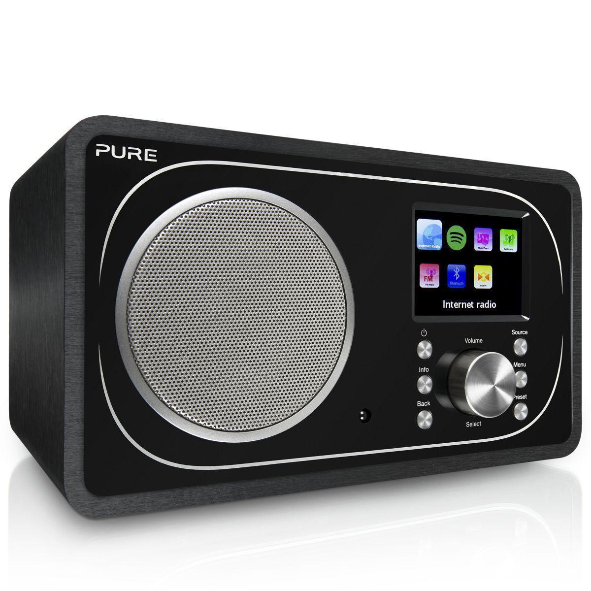 Radio Pure Evoke F3 alarm