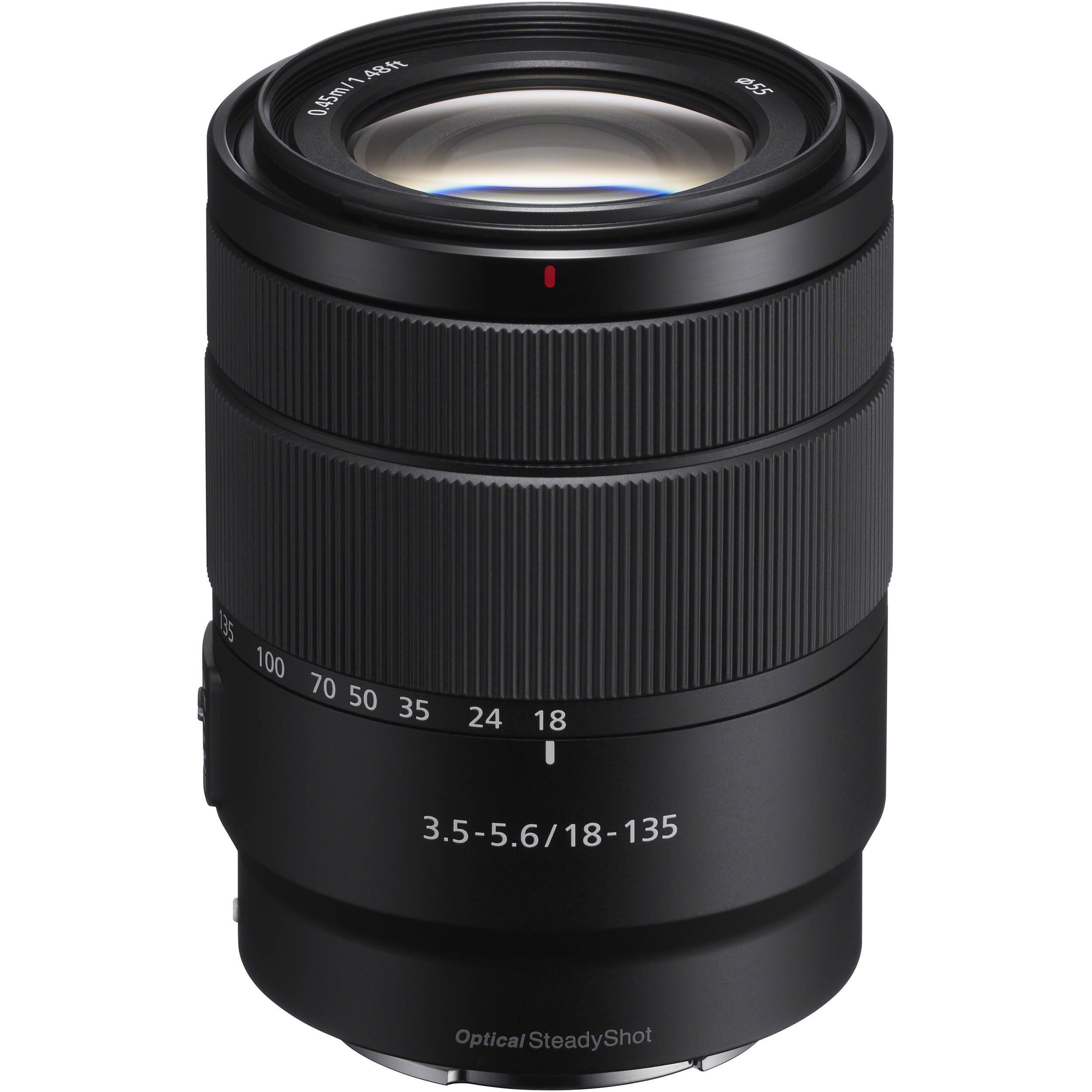 Camera Lense E 18-135mm f/3.5-5.6