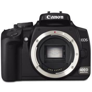 Reflex Canon EOS 400D - Zwart