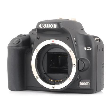 Cámara Reflex - Canon EOS 1000D - Negro