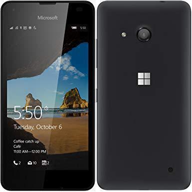 Microsoft Lumia 550 - Schwarz- Ohne Vertrag