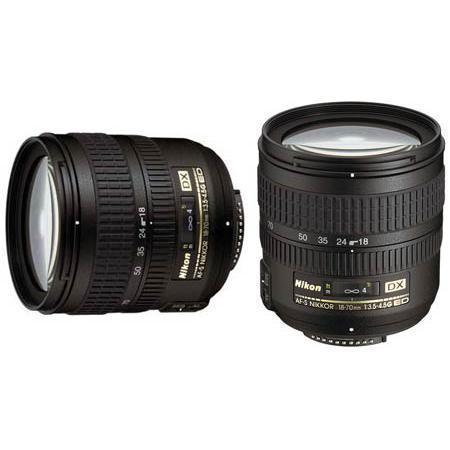Objectif F 18-70mm f/3.5-4.5
