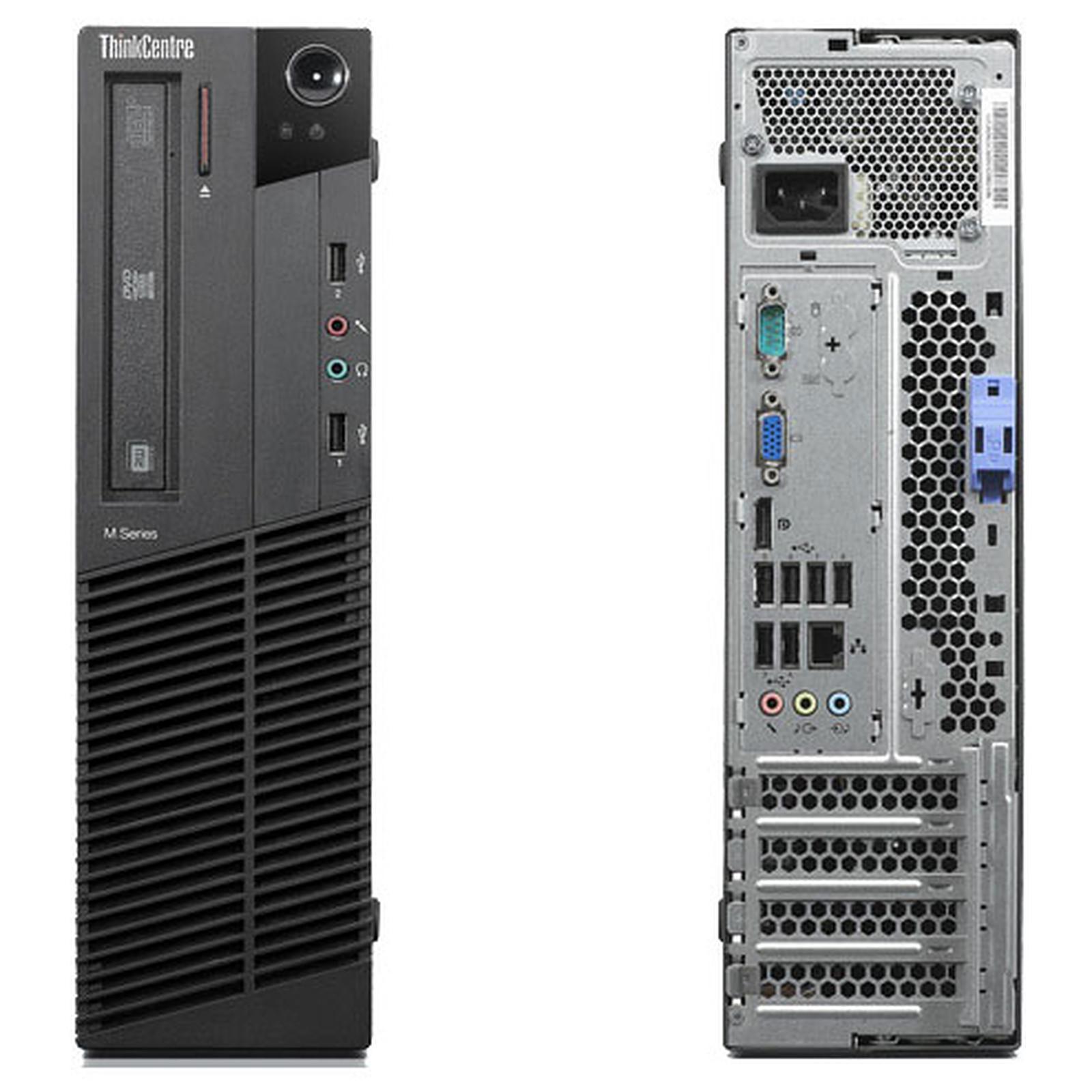 "Lenovo ThinkCentre M91P 7005 SFF 19"" Pentium 2,7 GHz - HDD 500 Go - 4 Go"