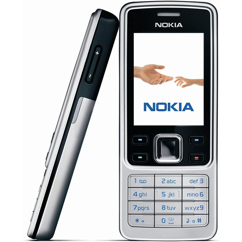 Nokia 6300 - Argento- Compatibile Con Tutti Gli Operatori