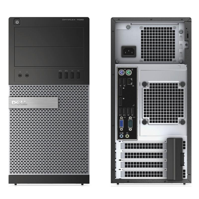 "Dell OptiPlex 7010 MT 19"" Core i5 3,2 GHz - HDD 250 Go - 4 Go"