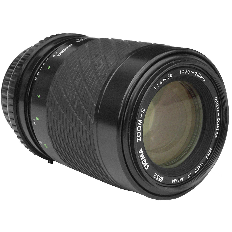 Objetivos EF 70-210mm f/4-5.6