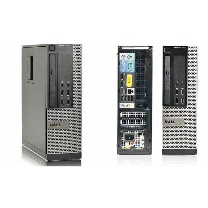 """Dell OptiPlex 7010 SFF 17"""" Pentium 3,1 GHz - SSD 240 Go - 8 Go"""
