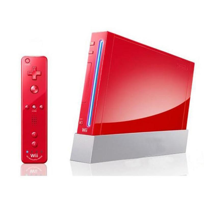 Nintendo Wii - HDD 0 MB - Röd