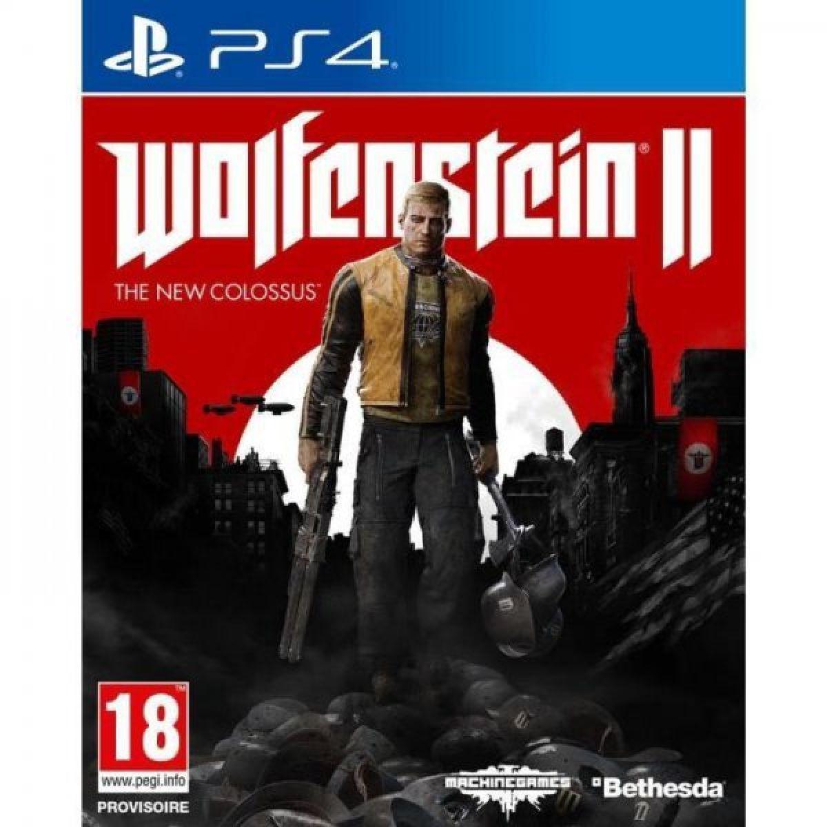 Wolfenstein II : The New Colossus - PlayStation 4