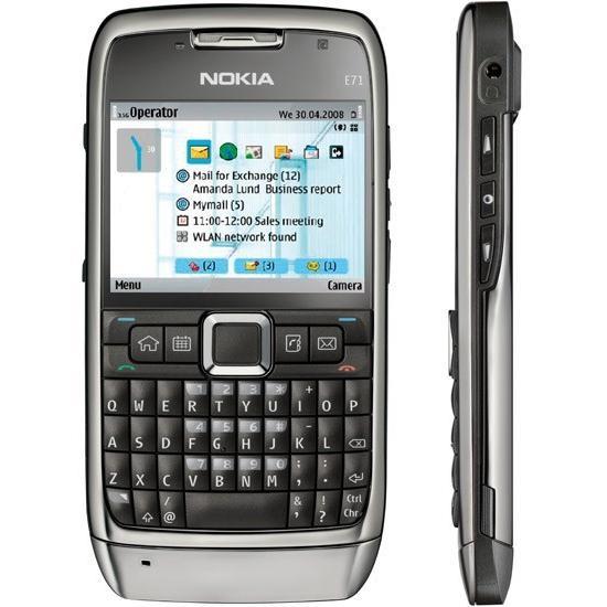 Nokia E71 - Argent- Débloqué