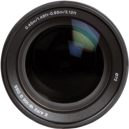 Objectif E 18-105mm f/4
