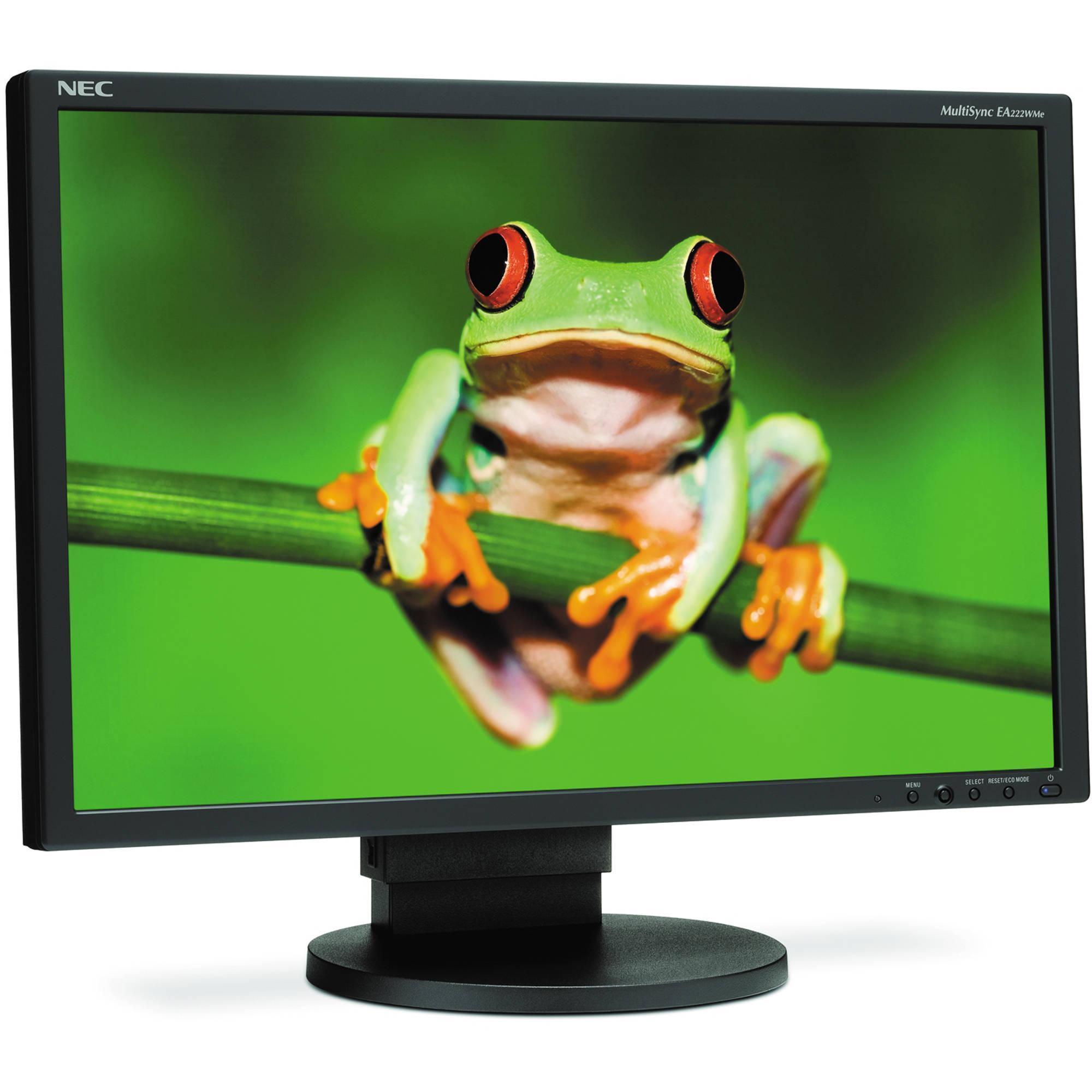 """Écran 22"""" LCD WSXGA+ Nec E222W-BK"""