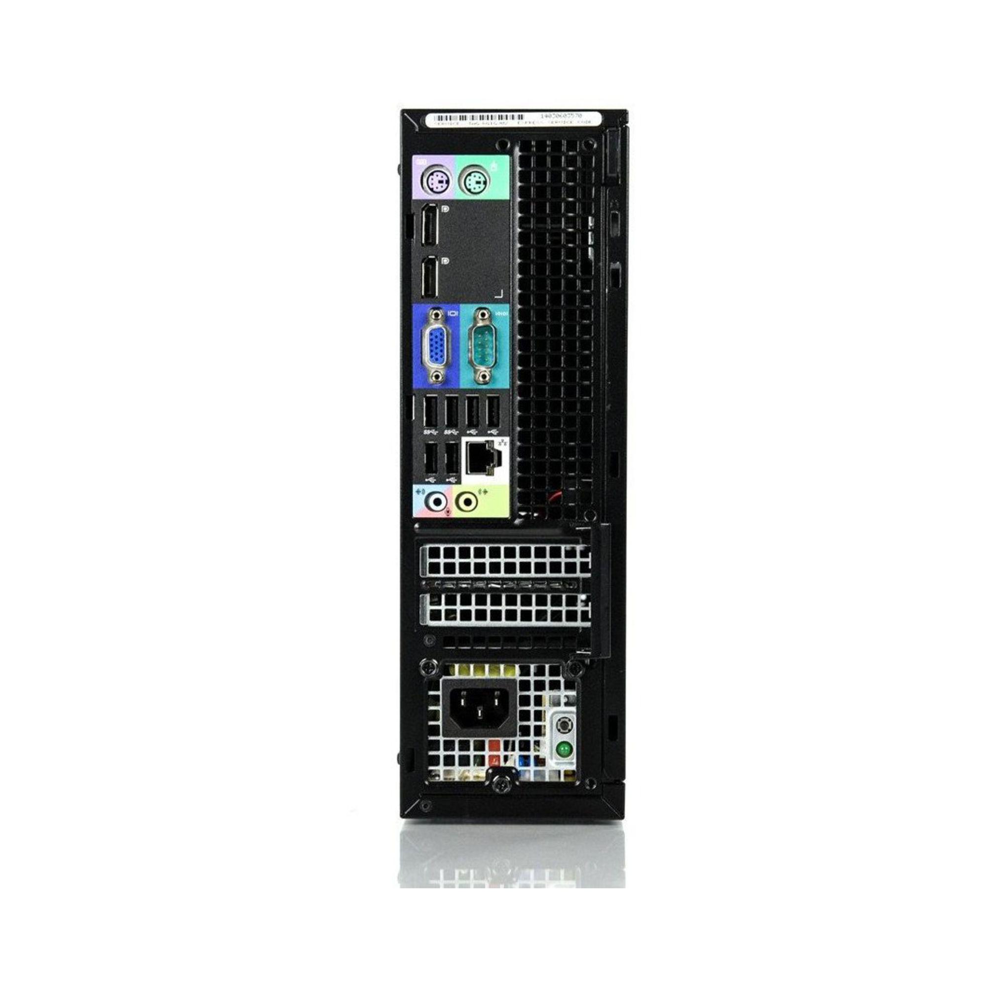 Dell OptiPlex 9020 SFF Core i7 3,6 GHz - SSD 500 Go RAM 32 Go