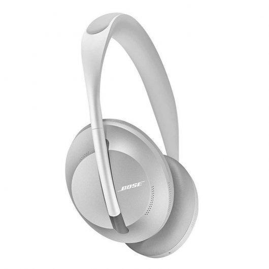 Bose Headphones 700 Noise-Cancelling Bluetooth Headphones with microphone - Silver