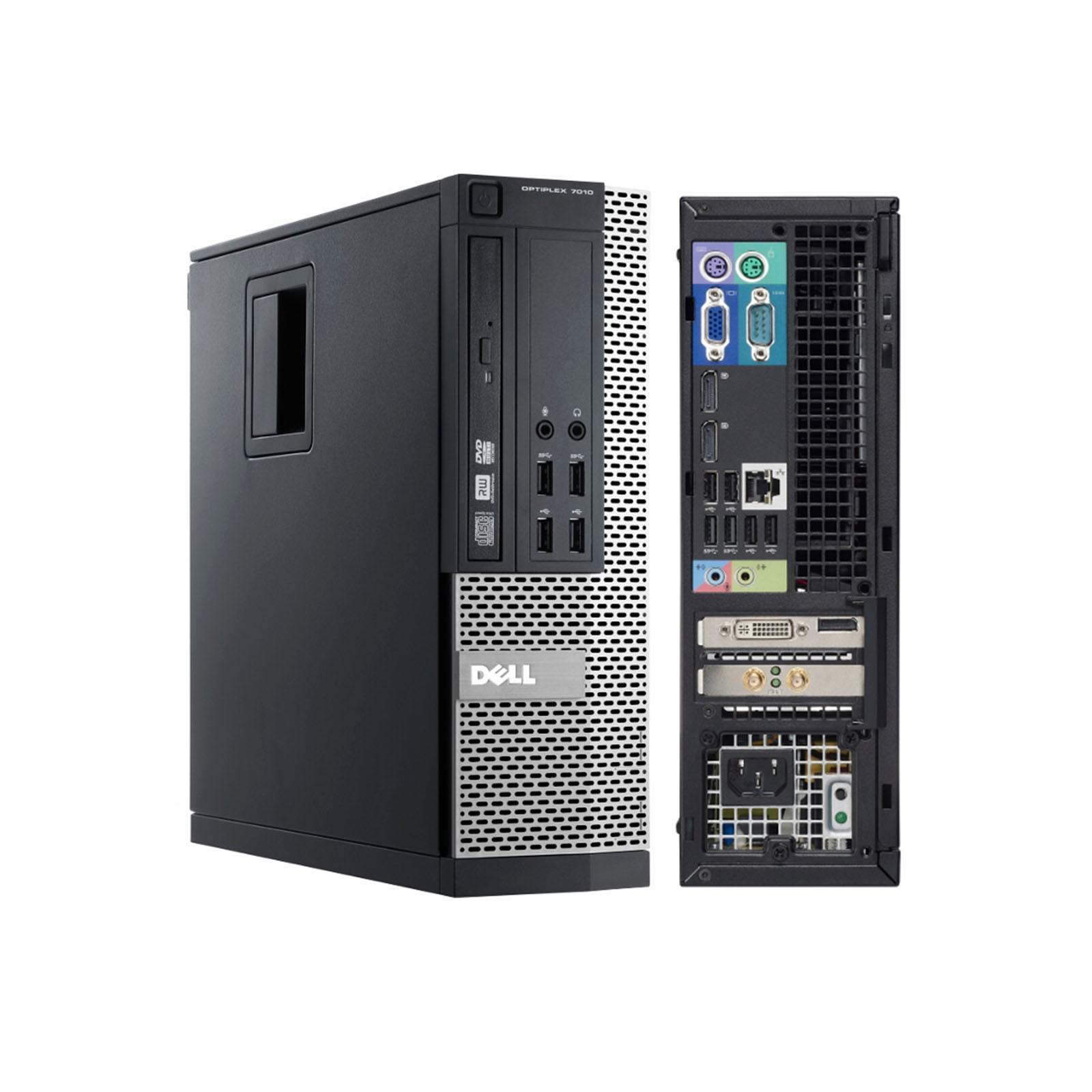 Dell OptiPlex 7010 SFF Core i5 3,2 GHz - SSD 240 Go RAM 16 Go