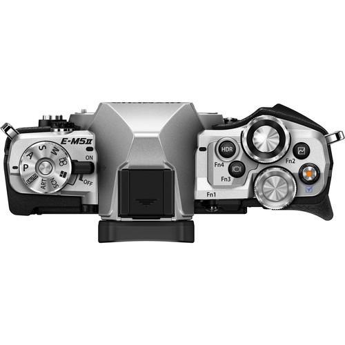 Olympus OM-D E-M5 Mark II Hybrid 16 - Black/Silver