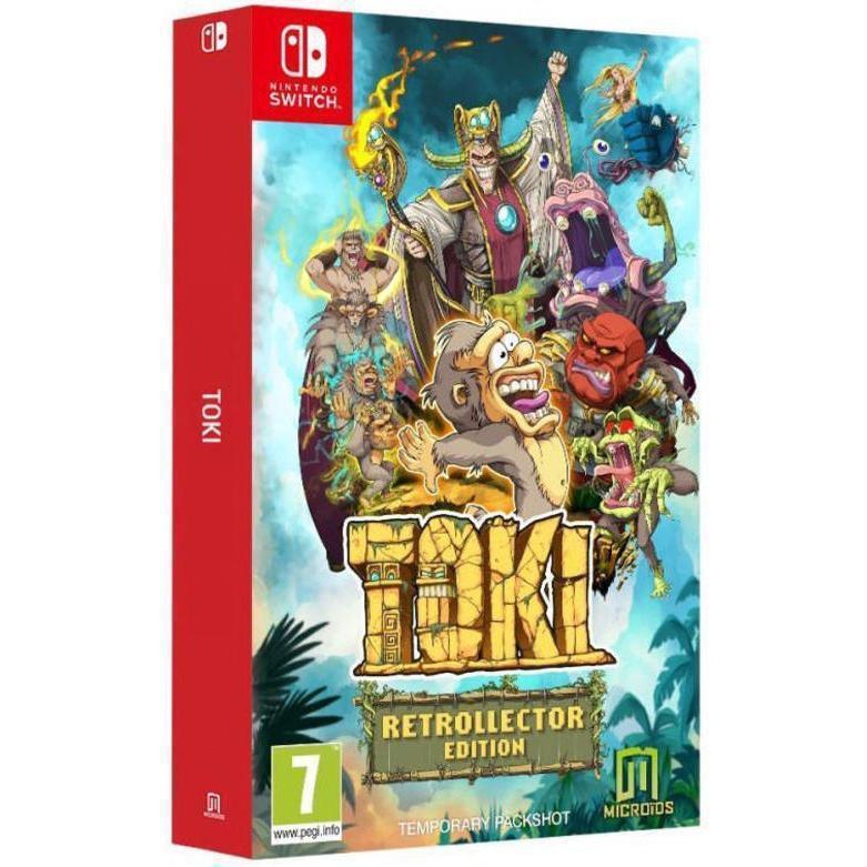 Toki Retrollector Edition - Nintendo Switch