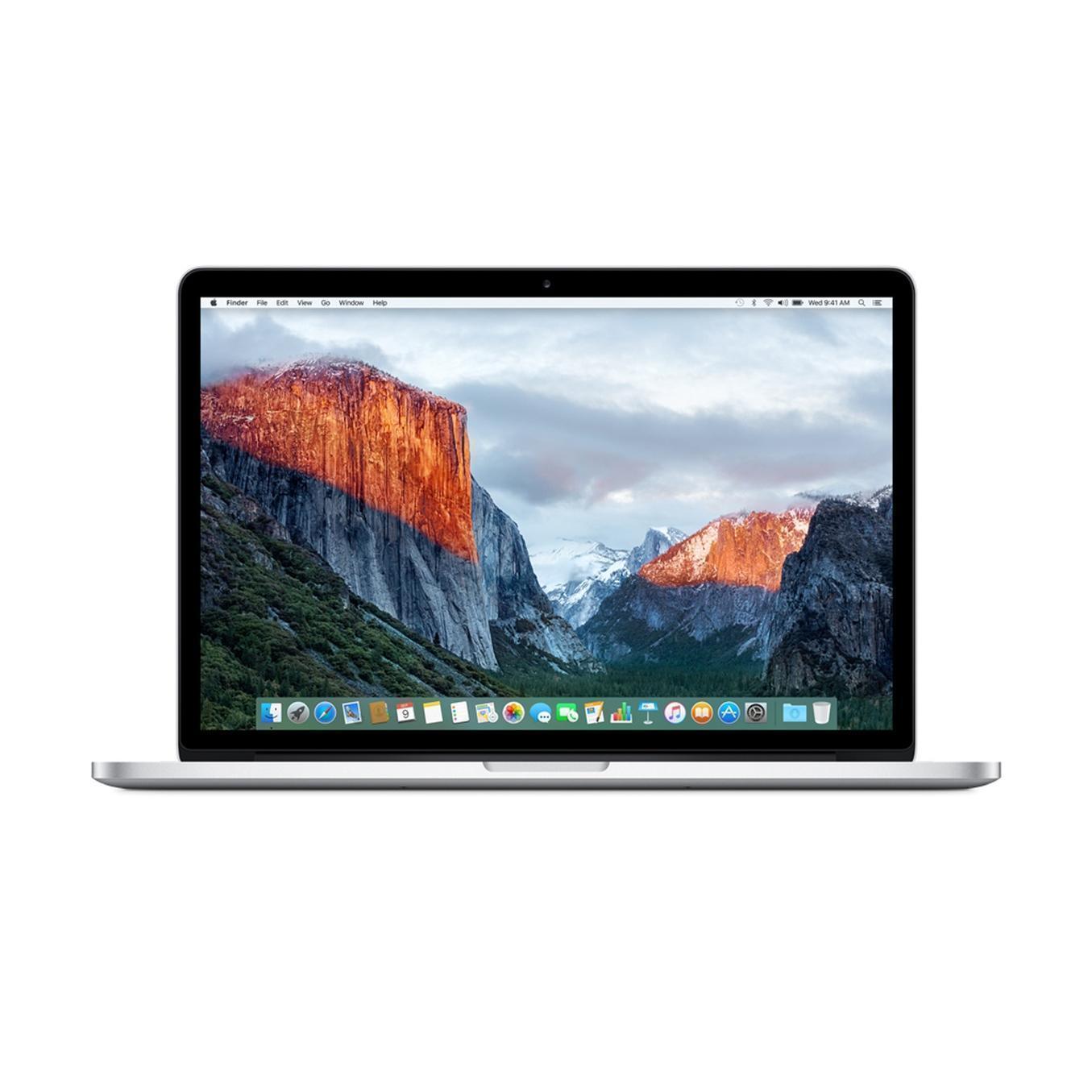 MacBook Pro Retina 15,4-tum (2015) - Core i7 - 16GB - SSD 256 GB QWERTY - Engelska (Storbritannien)